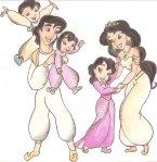 Alladin e seus vários filhos