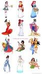 Cada princesa numa nacionalidade