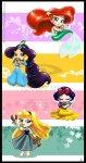 Princesas quando crianças