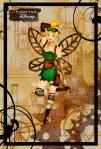 Tinkerbell como uma Steampunk