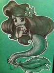 Desenho fofo de Ariel