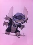 Stitch em seu momento de revolta